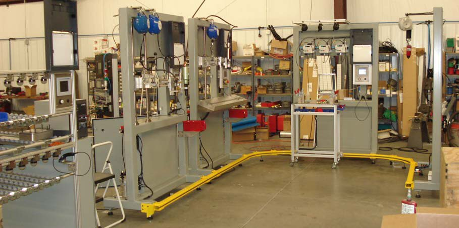 Brake Booster Lean Assembly Lines Rei Automation